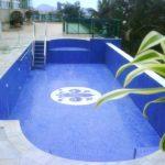 Pembuatan kolam renang baru