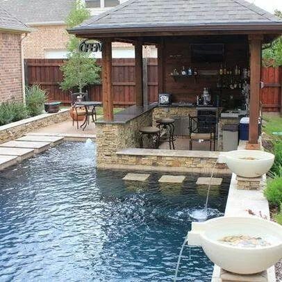 Pembuatan kolam renang minimalis
